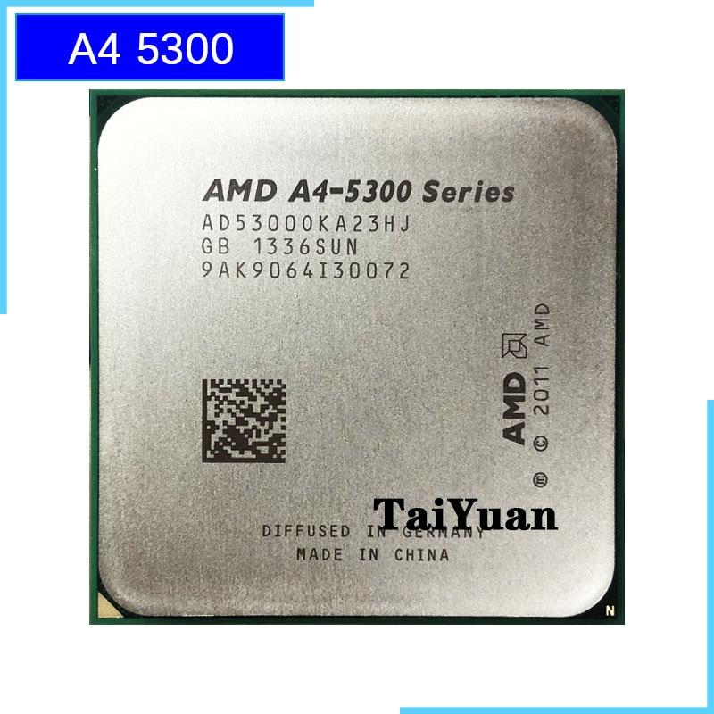 AMD A4-Series A4-5300 A4 5300 k 5300K 3,4 GHz Dual-Core CPU AD530BOKA23HJ / AD5300OKA23HJ hembra FM2