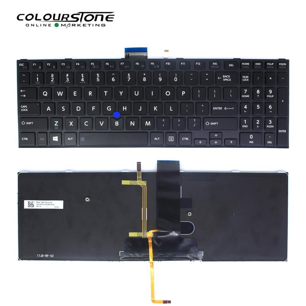 US layout keyboard for Toshiba Tecra A50-C A50-C1510 A50-C1520 Z50-C Z50-C1550 Laptop keyboard backlit