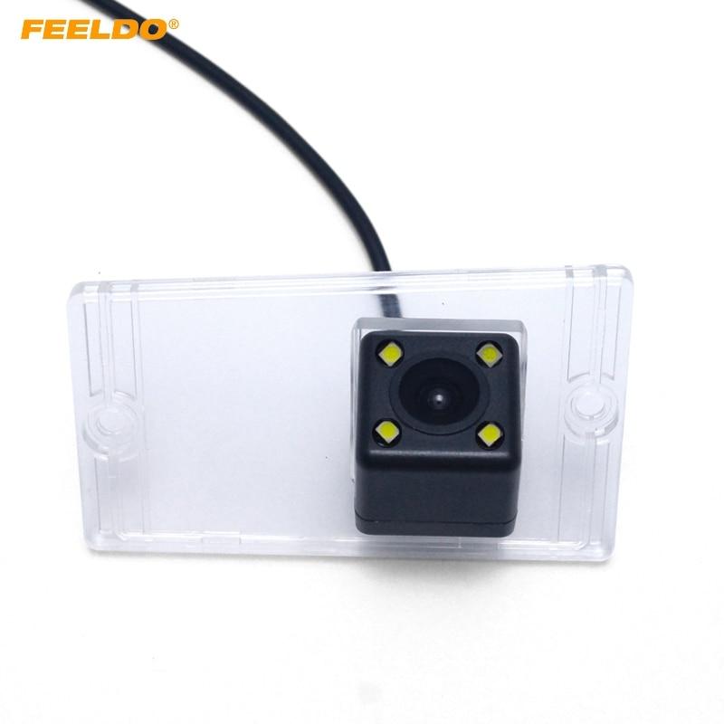 FEELDO 1Set Car Camera With LED Light For Kia (04~09) Cerato/Sephia/Spectra/Spectra5 Reverse Parking Camera #AM4444