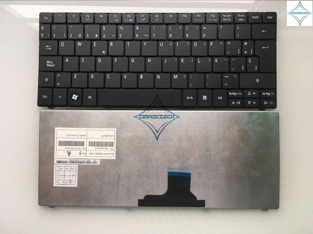 Новинка для Acer One 751 110 721 521 ZA3 ZA5 ZA8 AO751 1410 1810TZ 1810Z SP ИСПАНСКИЙ ноутбук клавиатура teclado MP-09B96E0-6982