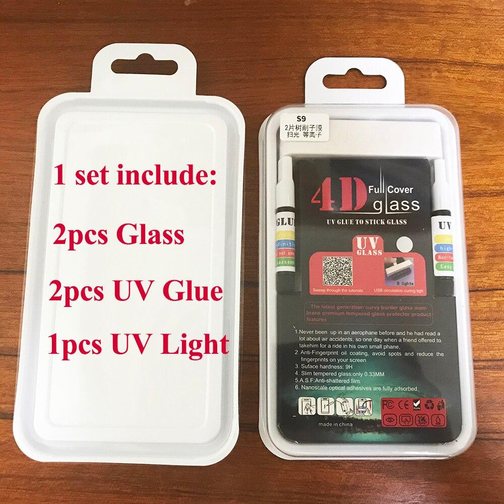واقي شاشة لهاتف Huawei Mate 20 Pro ، مجموعة من 10 ، 20 قطعة ، زجاج مقسّى ، سائل ، نانو ، غراء UV خفيف