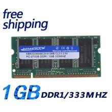 Kembona sealed ddr1 1 gb 333 mhz ram memoria pc2700 sodimm 200pin 노트북 및 노트북 용 A-M-D 및 intel 호환