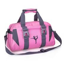 En plein air multifonction femmes sport sac de sport formation Fitness sacs à bandoulière femme sac à bagages couleurs mélangées voyage Yoga sacs à main