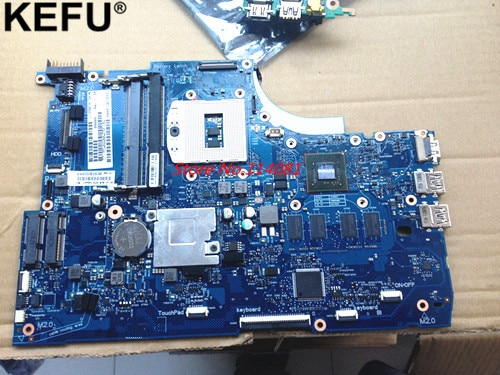 746447-501 746447-001 Laptop motherboard Apto para hp Envy15 HM87 740 M/2G sistema de Notebook placa