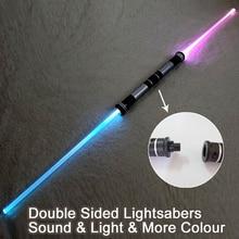 2PCS Laser Lightsaber Boy Gril Toys Darth Vader Sword Cosplay