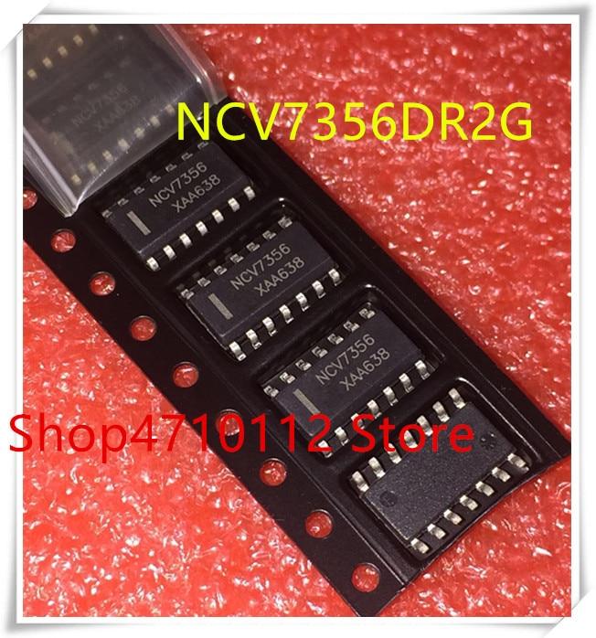 Nuevo 10 unids/lote NCV7356D2R2G NCV7356G NCV7356 NCV7356D2R2G SOP-14