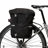 Roswheel Sahoo Series 14891-A-SA Bike Tail Rear Seat Trunk Bag Bicycle Saddle Bag Rack Side Panniers Pouch 15L