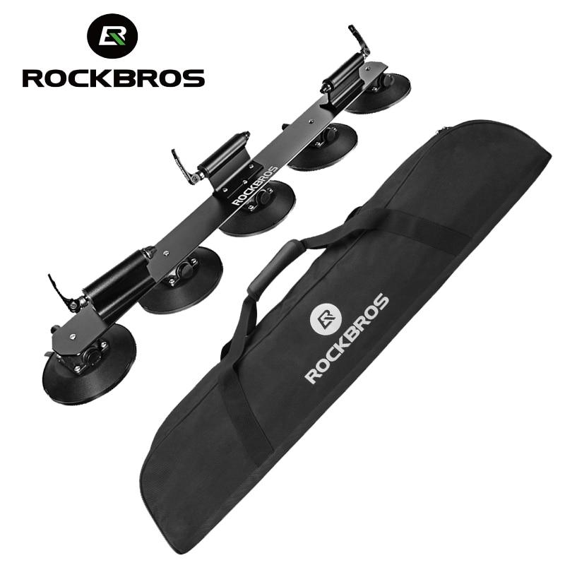 ROCKBROS 45L bicicleta de techo-estante de almacenamiento bolsa impermeable portátil MTB bicicleta de carretera Rack bolsas de almacenamiento bolsa para pescar al aire libre 91x25 cm