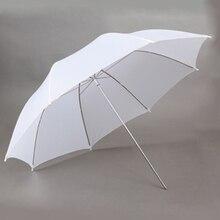 Andoer 33in / 83cm Studio de photographie diffuseur Flash translucide blanc parapluie doux