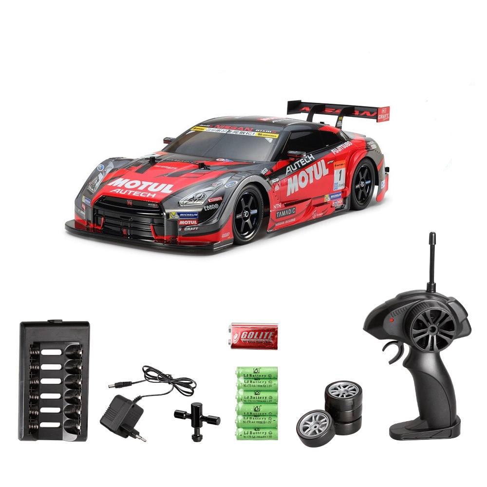 Радиоуправляемый автомобиль для GTR 4WD Drift, гоночный автомобиль, Чемпионат 2,4G по бездорожью, Радиоуправляемый автомобиль, электронные игрушк...