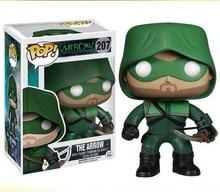 POP Green Arrow 207# PVC Action Figure Collectible Model toys for chlidren