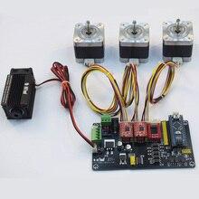 Laserowa maszyna grawerująca USB wielu osi krokowy do sterowania silnikiem Panel DIY maszyna do grawerowania płyta główna kontrola cnc System