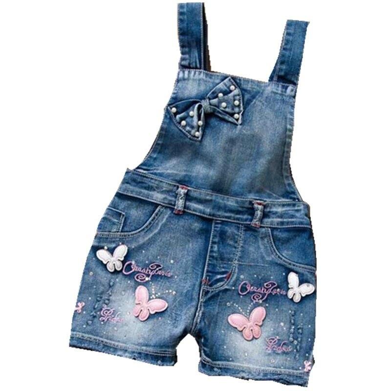 2019 primavera verano estilo de EE. UU. Mono lindo dulce de moda lavado Jeans Denim mono monos correas pantalones cortos vaquero azul