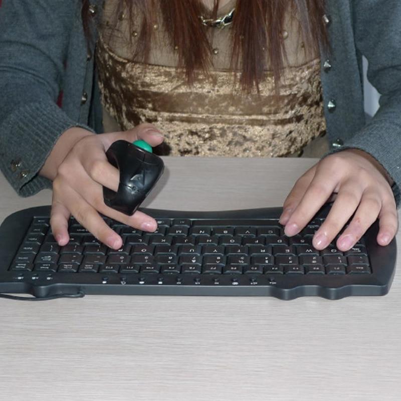 ماوس كرة التتبع ، لاسلكي ، 2.4 جيجا هرتز ، USB ، للكمبيوتر الشخصي ، الكمبيوتر المحمول ، JR ، عروض