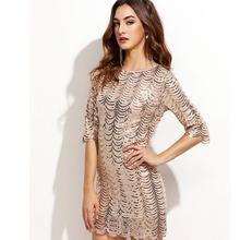 Домашняя Лоскутная Мода алый суп рукав о-рубашка Женская Офисная карандаш скользкое платье vestidos Большие размеры