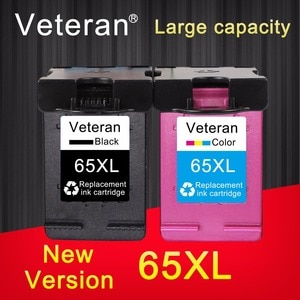 Veteran 65XL Compatible for hp 65 XL hp65 new chip Ink cartridge for hp Envy 5010 5020 5030 5032 5034 5052 5055  2623 printer