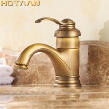 Robinets de lavabo en laiton Antique de 6