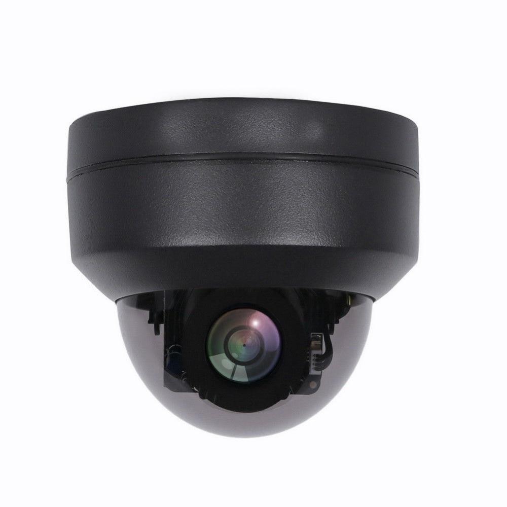 Купольная мини-камера ПНН 2 МП 4 МП, водонепроницаемая черная ONVIF P2P для домашней и уличной безопасности, проводная ИК IP-камера видеонаблюдени...