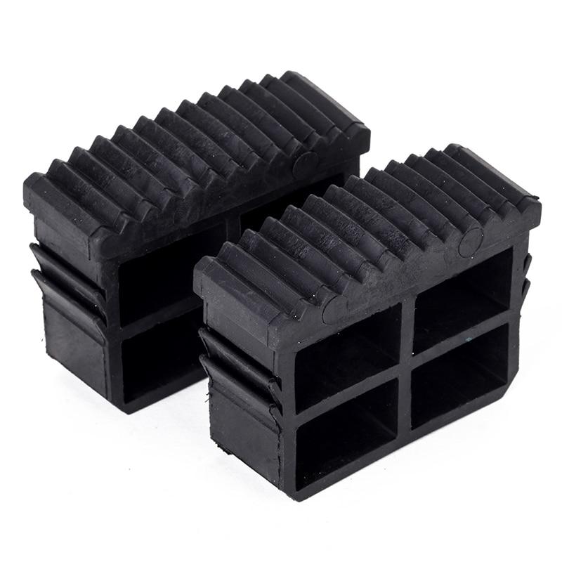 Сменные накладки на ступенчатые лестницы, 2 шт., качественные черные резиновые складные накладки на двойные лестницы, Аксессуары для инстру...