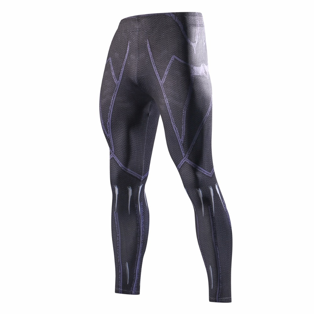 2018 Avengers 3 Infinity War Iron Spider-Man pantalones Jogger ejercicio Fitness culturismo compresión medias pantalones largos