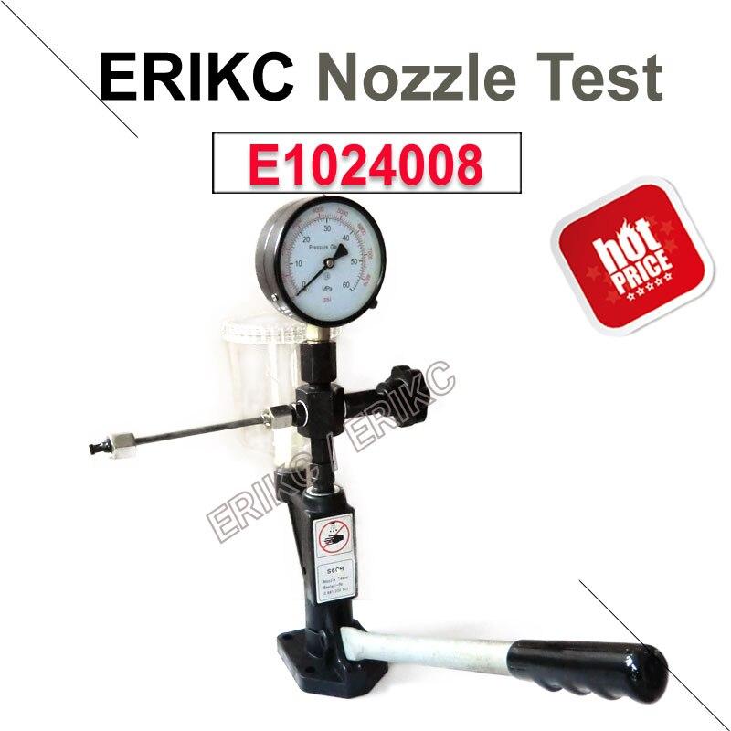 Erikc bomba de combustível montagem por injeção ferramentas de diagnóstico bico do motor diesel sistema de teste geral injector bocais testador de precisão
