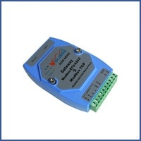 ADM-5850G industrial Modbus gateway server MODBUS RTU/ASCII to Modbus TCP supports PLC serial port