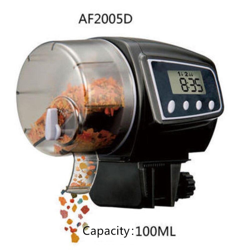 Автоматическая аквариумная кормушка с цифровым светодиодным дисплеем 65 160
