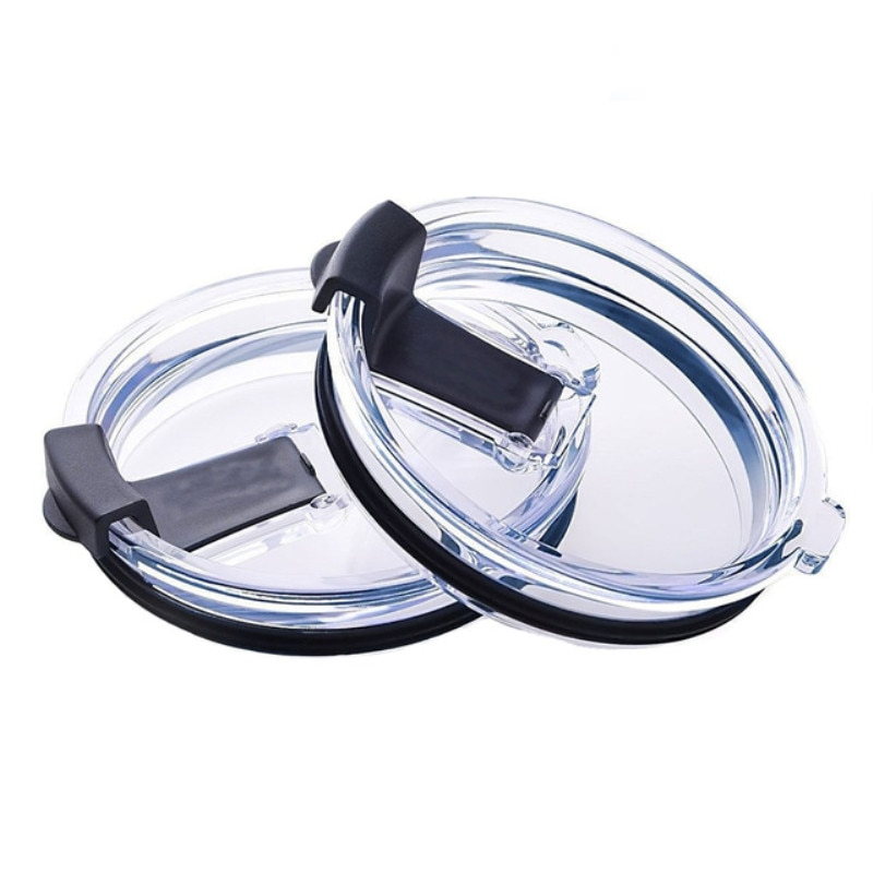 20oz/30oz Seal Splash Spill Proof Lid Ozark Trail Tumbler Cup Accessories black Cup cover Transparent Cup Lid Kitchen Tools