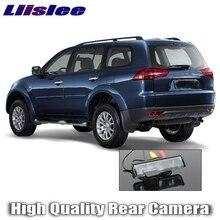 Liislee-caméra de voiture pour Mitsubishi Pajero Sport 2008 ~ 2016   Qualité supérieure avec vue arrière, caméra de secours pour amis, utilisation RCA