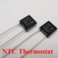 100pcs a3 f 125c 3a 250v degree thermal cutoff rh125 thermal links black square temperature fuse