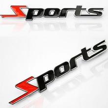Voiture style 3D en acier inoxydable sport emblème Badge autocollants pour Lada Priora berline sport Kalina Granta Vesta x-ray