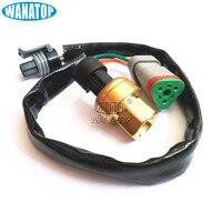 New Heavy Duty Pressure Transmitter 194-6724 1946724 for Cat Caterpillar C15 C12
