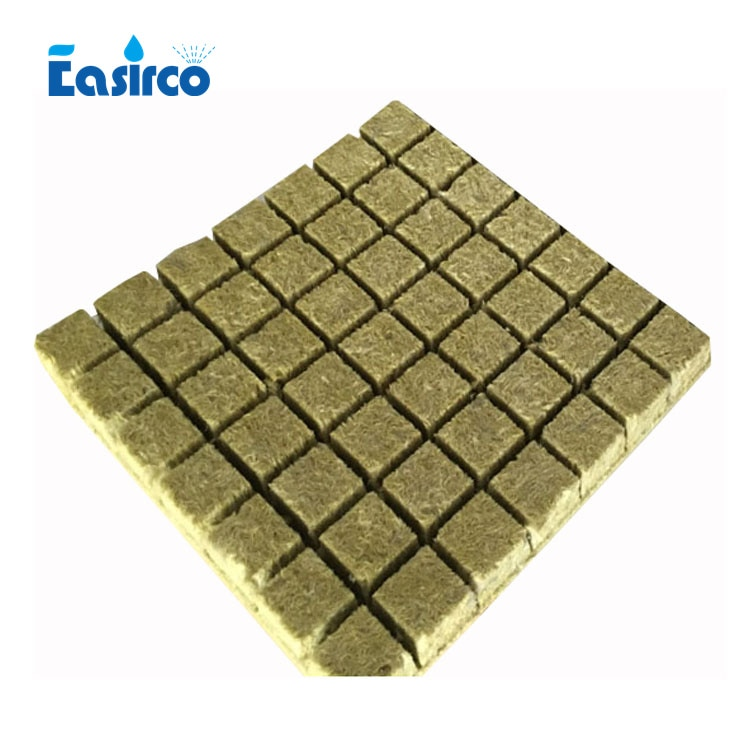 49pcs grow plug Grodan 36MM Starter Plugs Cubes - rockwool hydroponic grow media. Propagation Cloning Rockwool Cubes