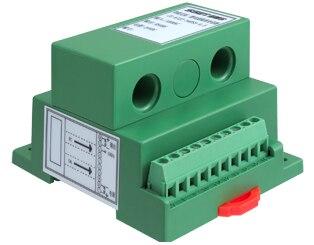 مرحلتين AC الحالي الرقمية محول RS485 (امدادات الطاقة 11-24VDC)