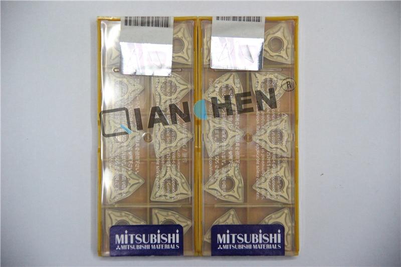 Mitsubishi 10 unids/lote WNMG080404-MA UE6110 WNMG080408-MA UE6110 insertos CNC, herramientas de torno de molino facial herramienta de corte CNC
