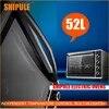 SHIPULE – four électrique multifonction 52l pour la préparation des gâteaux la cuisson du pain la Pizza et les poulets