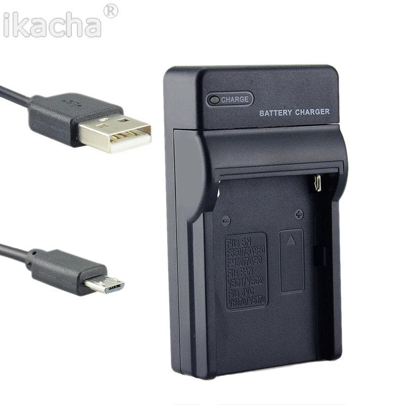 Nuevo EN-EL14 es EL14 cargador de batería para cámara Cable USB para cámara Nikon Coolpix D7000 D7100 D800