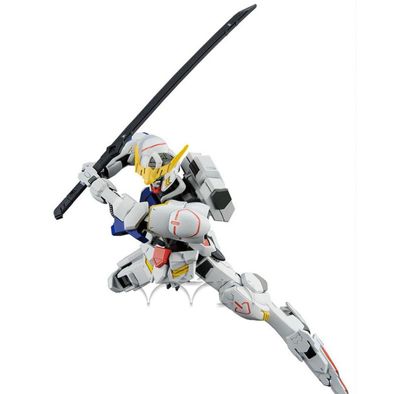 2019 nuevos bloques Gundam Barbatos DIY MG huberos de sangre de hierro HG 001 1/144 Lupus Rex montaje modelo de construcción Kits ASW-G-08