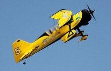 Dynam 1130MM Pitts modèle 12 RC RTF avion à hélice avec moteur Servos batterie TH03681