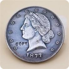 COPY REPLICA USA 1877 50C Paquet Liberty Half Dollar Patterns COPY COIN FREE SHIPPING