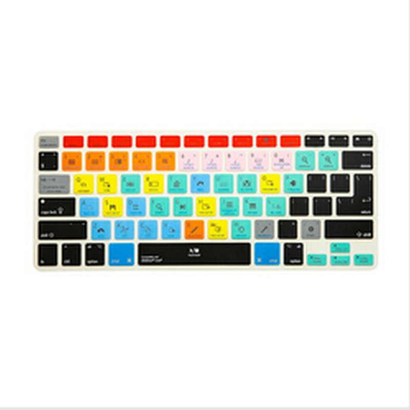 (2 шт.) клавиатура A1278 Ableton с горячими клавишами, Защитная пленка для iPhone iMac, Macbook Pro Air 13 15 KC_A1278_TY_AbletonLive