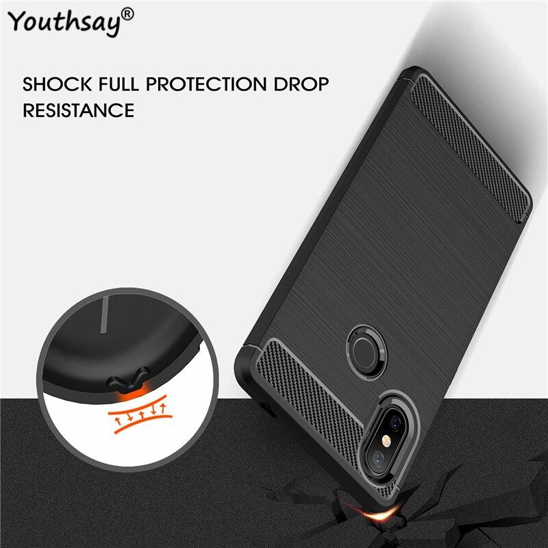 For Xiaomi Mi 8 SE Phone Case Luxury Shockproof Armor Rubber Phone Cover For Xiaomi Mi 8 SE Cover Fo