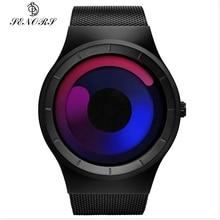 Senors Fashion Brand New Creative Rotation Men Watches Vacuum Plating Quartz Sport Watch Men Sports Wristwatch Relogio Masculino