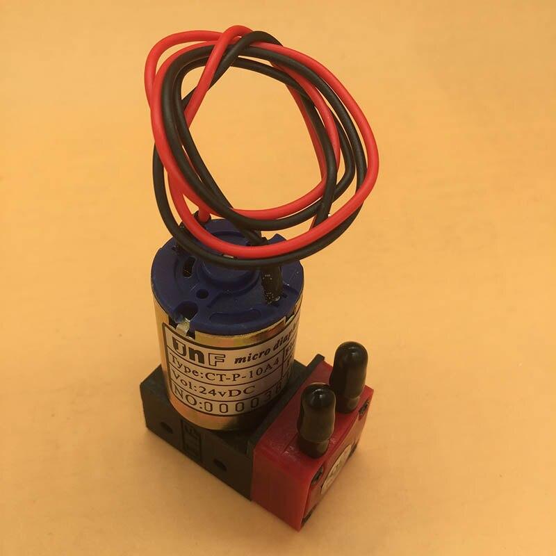 10 قطعة 3 W صغيرة الحبر مضخة لإنفينيتي Crystaljet زونغيه الطرافة اللون Xuli النافثة للحبر طابعة المذيبات السائل مضخة 3 w 24 v DC مضخة صغيرة