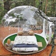 Venta caliente tienda de campaña burbuja transparente inflable burbuja globo de nieve para la venta