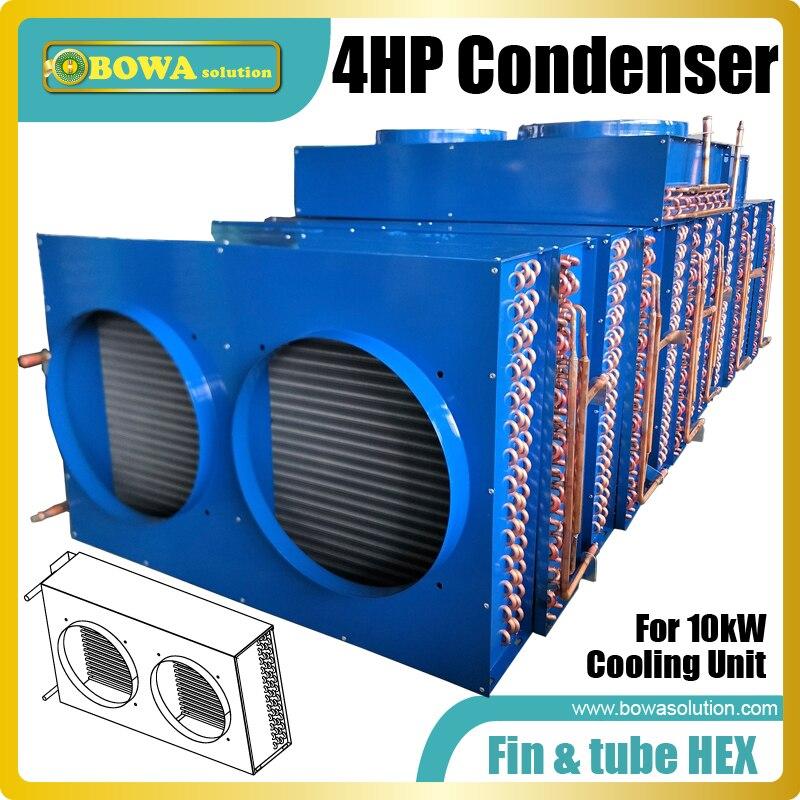 4 Hp el intercambiador de calor de aleta y tubo es la mejor opción para sistemas de aire acondicionado de flujo de refrigerante variable o unidades de bomba de calor 3 en 1