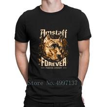 Forever Amstaff t-shirt Unique printemps automne Fitness nouveau Style Designer coton Standard O cou chemise