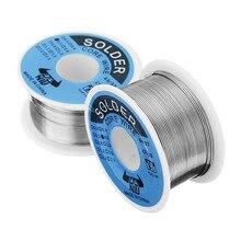 DANIU 100g 63/37 Tin Lead Rosin Core 0.5-2mm 2% Flux Reel Welding Iron Line Solder Wire Reel 0.5 / 0