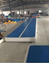Personnalisable 10*2*0.2m Air Tumbling piste gymnastique Cheerleading tapis gonflable expédition rapide