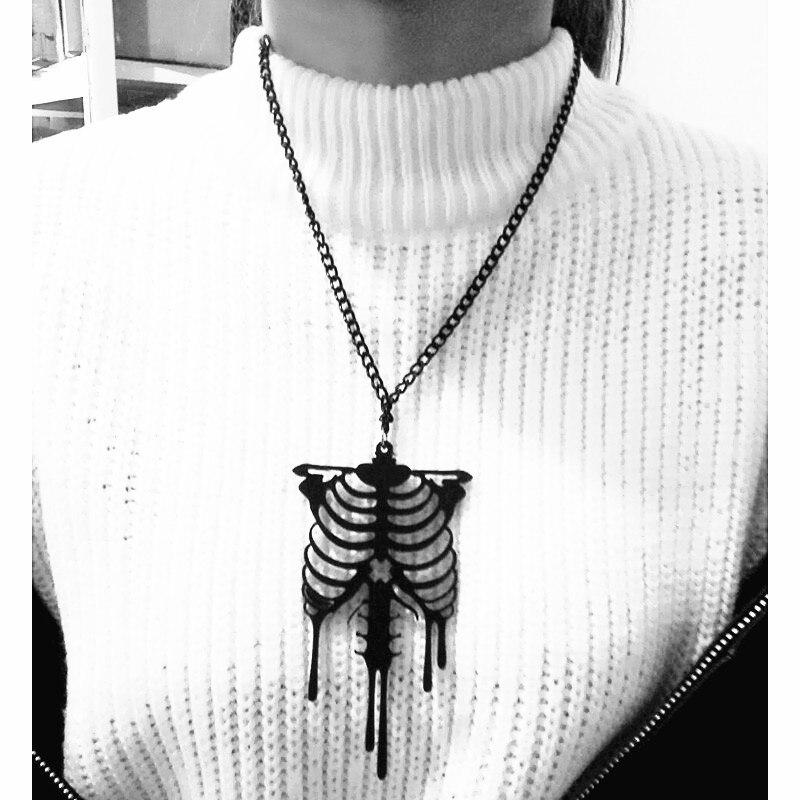 Moda feminina jóias joyas longo corrente colares um colar colar de microfone acrílico cheio pingente perfume feminino pashmina